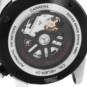 TAG Heuer Carrera Calibre Heuer 01 Skeleton Mens Watch CAR2A1T Box Card