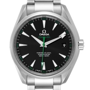 Omega Seamaster Aqua Terra Golf Edition Watch 231.10.42.21.01.004 Box Card