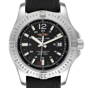 Breitling Colt Black Dial Automatic Steel Mens Watch A17388