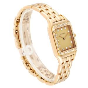 Cartier Panthere 18k Yellow Gold Diamond Unisex Watch 883969
