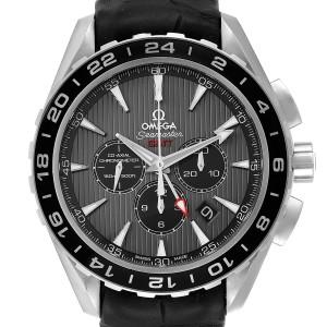 Omega Seamaster Aqua Terra GMT Mens Watch 231.13.44.52.06.001 Box Card