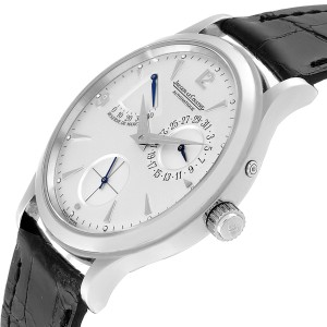 Jaeger Lecoultre Reserve De Marche Ultra Thin Watch 140.8.38.S Q1488404 Box Papers