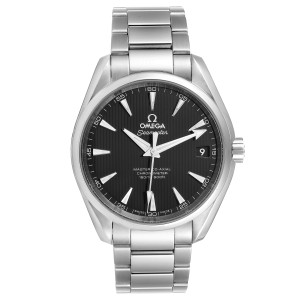 Omega Seamaster Aqua Terra Black Dial Steel Mens Watch 231.10.42.21.01.003