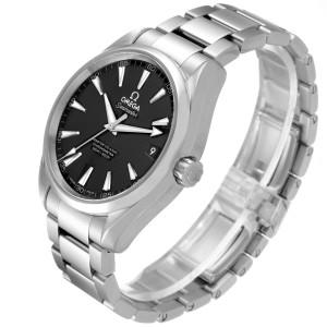 Omega Seamaster Aqua Terra Black Dial Steel Mens Watch 231.10.42.21.01.003