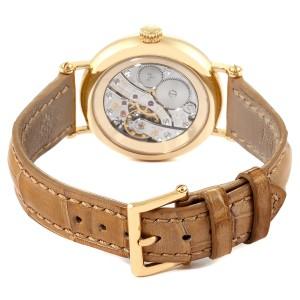 Patek Philippe Calatrava Moonphase Yellow Gold Diamond Ladies Watch 7121