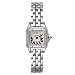 Cartier Panthere Midsize 22mm Steel Ladies Watch WSPN0006 Box