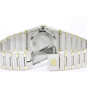 Omega Constellation 18K Yellow Gold & Stainless Steel 26mm Womens Watch