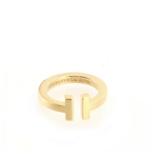 Tiffany & Co. T Square Ring 18K Yellow Gold