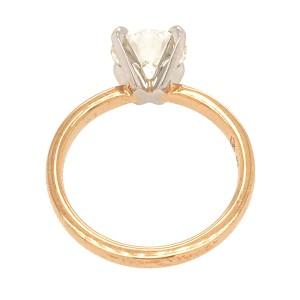 GIA Certified 1.51 Carat Round Diamond Engagement Ring