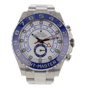 Rolex Yacht Master II Stainless Steel Mens Watch