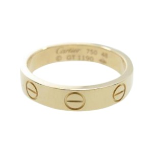 Cartier 18K Rose Gold Mini Love Model Ring 4.5