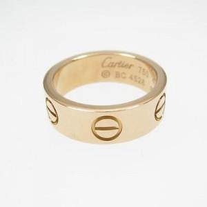 Cartier 18K Rose Gold Motive Love Ring 4