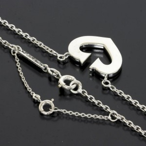 Cartier 18K White Gold Pendant Necklace