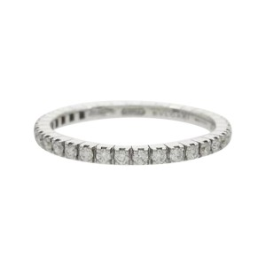 Bulgari 750 White Gold B Eternity Small Ring