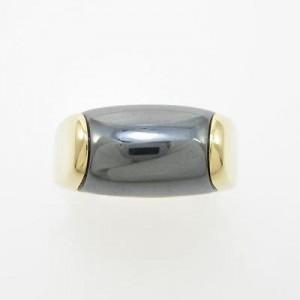 Bulgari 750 Yellow Gold Tronchetto Ring
