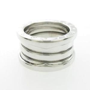 Bulgari B zero1 750 White Gold Band Ring Size U.S. 3.75 EU 46