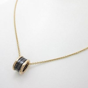Bulgari 750 Pink Gold B Zero1 Necklace