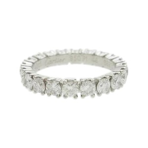 Cartier 950 Platinum Eternity Ring Size 3.75