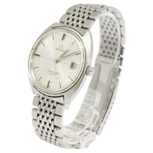 Omega Seamaster Cosmic Stainless Steel Hand Winding Mens Watch