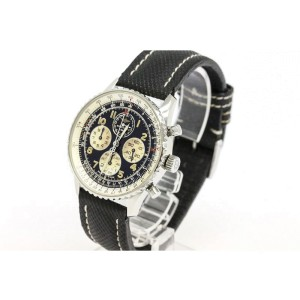 Breitling Navitimer Airborne Chronograph Stainless Steel Mens Watch
