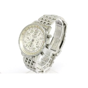 Breitling Navitimer Twin Sixty Steel Automatic Watch