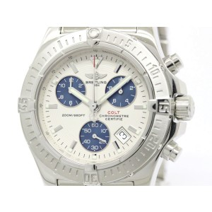 Breitling Colt Chronograph Stainless Steel Quartz Mens Watch