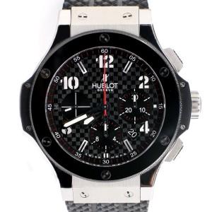 Hublot Big Bang Chronograph 44MM Steel/Ceramic Watch 301.SB.131.RX Box Papers