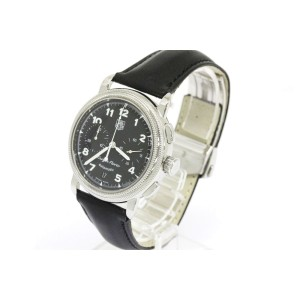 Tag Heuer Targ Florio Stainless Steel & Leather 40mm Watch