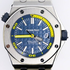 Audemars Piguet Royal Oak Offshore Diver Blue Dial Watch