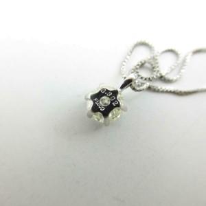 JEWELRY Platinum Diamond Necklace RCB-56