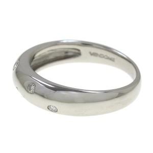 Van Cleef & Arpels Platinum Ring Size 5.75