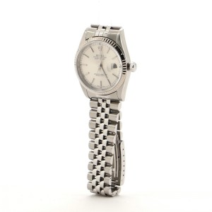 Rolex Oyster Perpetual Datejust Automatic Watch Stainless Steel 36