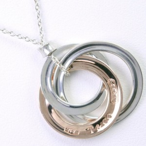 TIFFANY & Co. Silver/metal Rubed Necklace