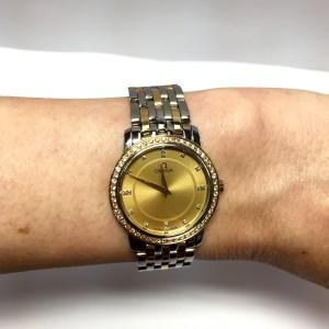 Omega Seamaster 18K Yellow Gold & Stainless Steel Diamond 27.50mm Watch