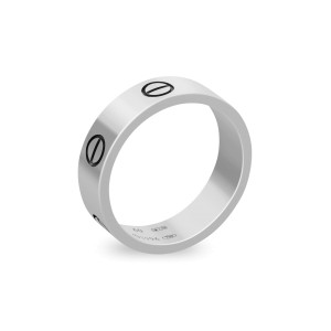 Cartier Love Ring 18K White Gold Size 9