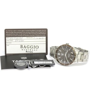 Tag Heuer Carrera Calibre 5 Stainless Steel Automatic 39mm Mens Watch