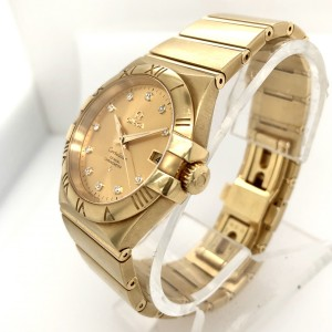 OMEGA CONSTELLATION Co-Axial  Chronometer Automatic 36mm Yellow Gold Watch