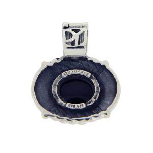 David Yurman Albion 925 Sterling Silver & 14K Yellow Gold with Black Onyx Pendant