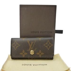 LOUIS VUITTON Monogram Canvas Multicles 4 Key Holder Case M62631