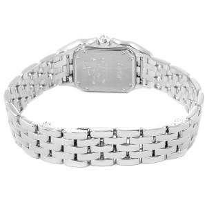 Cartier Panthere Ladies 18k White Gold Diamond Watch WF3091F3