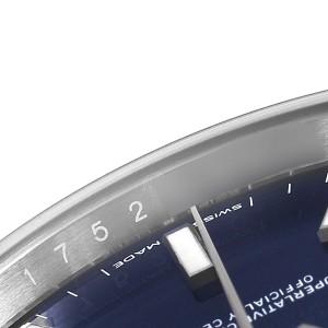 Rolex Datejust 41 Blue Dial Jubilee Bracelet Steel Mens Watch 126300 Box Card