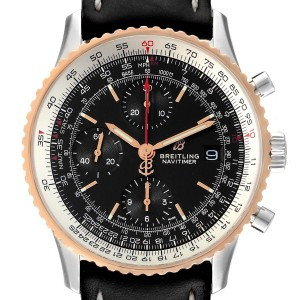 Breitling Navitimer 1 Chronograph 41 Steel Rose Gold Mens Watch U13324