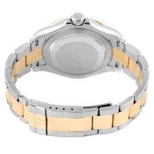 Rolex Yachtmaster Steel 18K Yellow Gold Mens Watch 16623