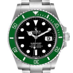 Rolex Submariner 50th Anniversary Green Kermit Mens Watch 126610LV Unworn