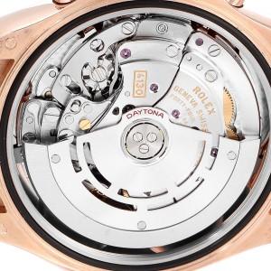 Rolex Cosmograph Daytona Rose Gold Everose Mens Watch 116515 Box