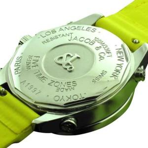 Jacob & Co Five Time Zone 40 mm Diamond Bezel 2,00 ct. Watch