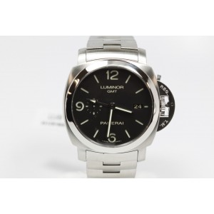 Panerai Luminor PAM329 GMT Bracelet Watch