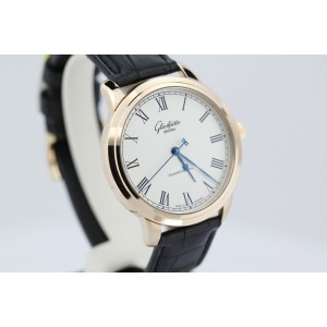 Glashutte Original W13959010504 18K Rose Gold Senator Mens Watch