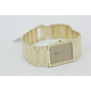 Omega 123 14K Yellow Gold Quartz 24mm x 34mm Unisex Watch