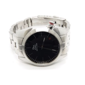 Dior Homme Paris Chiffre Rouge EG2978 Stainless Steel Automatic 36.5mm Mens Watch